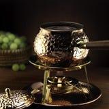 комплект fondue Стоковые Фотографии RF
