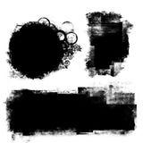 комплект grunge знамени Стоковое Фото