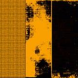 комплект grunge знамен Стоковые Фото