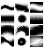 комплект halftone Стоковые Изображения RF