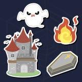 Комплект Halloween Стоковое Фото