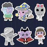 Комплект Halloween Стоковые Изображения