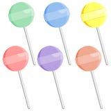 комплект lollipop Стоковое Изображение