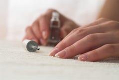 комплект manicure Стоковые Фотографии RF