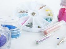 комплект manicure Стоковое Изображение
