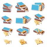 Комплект Matchbox стоковая фотография