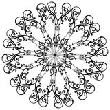 комплект ornamental загородки Стоковые Изображения