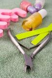 комплект pedicure красотки Стоковые Фотографии RF