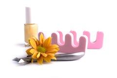 комплект pedicure красотки Стоковое Изображение RF