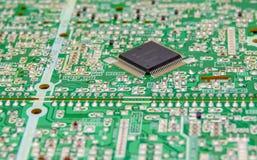 компоненты доски электронные стоковая фотография