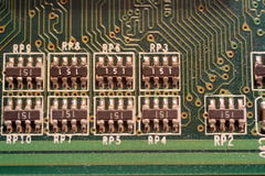 Компоненты компьютера Стоковое Изображение RF