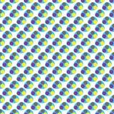 Компоненты цвета CMYK деформированных точек Стоковая Фотография RF