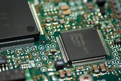 компоненты электронные Стоковые Изображения