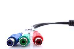 компонент кабеля Стоковая Фотография