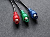 компонент кабеля стоковое изображение