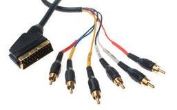 компонент кабеля Стоковые Изображения RF