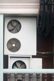 Компрессор кабелей и воздуха стоковое фото