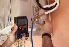 Компрессор кондиционера воздуха Стоковая Фотография RF