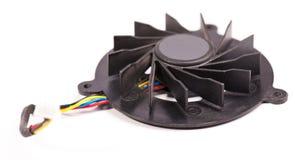 компьтер-книжка вентилятора кабелей Стоковое Фото