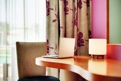 компьтер-книжка гостиницы Стоковая Фотография RF