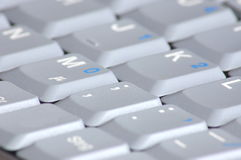 компьтер-книжка клавиатуры компьютера Стоковое Фото