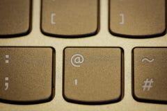 компьтер-книжка клавиатуры Стоковая Фотография RF
