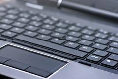 компьтер-книжка клавиатуры Стоковая Фотография