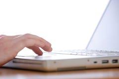 компьтер-книжка клавиатуры Стоковые Фотографии RF