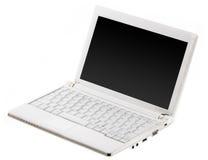 компьтер-книжка компьютера открытая Стоковое Фото