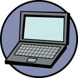 компьтер-книжка компьютера иллюстрация вектора