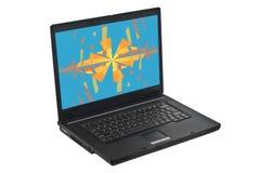 компьтер-книжка компьютера Стоковое Изображение RF