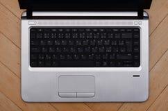 компьтер-книжка клавиатуры Стоковые Фото