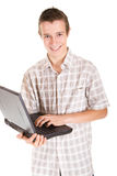 компьтер-книжка предназначенная для подростков Стоковые Фотографии RF