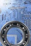 компьютеризированное инженерство Стоковые Фотографии RF