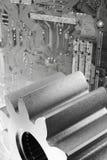 компьютеризированные металлы стоковые изображения