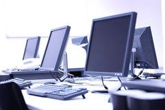компьютерная комната стоковое фото rf