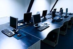компьютерная комната Стоковая Фотография