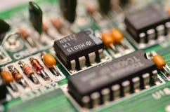 Компьютерная микросхема Стоковые Фото