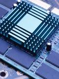 Компьютерная микросхема Стоковые Изображения RF