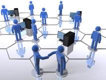 компьютерная сеть Стоковая Фотография RF