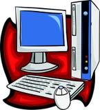 компьютерная система Стоковое Изображение