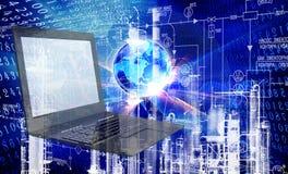 Компьютерная технология инженерства Стоковое Изображение