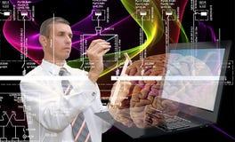 Компьютерная технология инженерства Стоковое Изображение RF