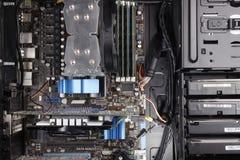 Компьютерное оборудование Стоковое Изображение RF