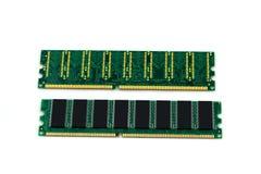 2 компьютерной памяти изолированной на белизне Стоковые Фотографии RF