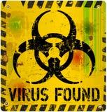 Компьютерный вирус Стоковые Изображения