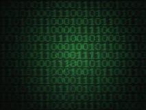 Компьютерный код двоичной вычислительной машины Grunge Стоковые Фото