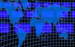 компьютерный мир Стоковое Изображение RF