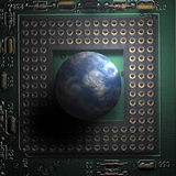 компьютерный мир Стоковые Изображения