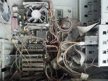 компьютеры старые Стоковое фото RF